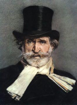 Giuseppe Verdi drawn by Giuseppe Boldini (1886)