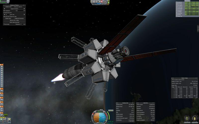 Thermal water rocket